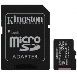Karta pamięci microSD 128GB Kingstone Canvas Select Plus 100MB/s