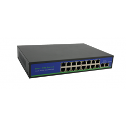SW-16P2H 16 portowy switch PoE Extend