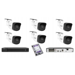Zestaw do monitoringu domu HIKVISION 4Mpx IP POE IR40